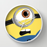 Minion Wall Clock by Janice Wong