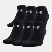 UA Charged Cotton® 2.0 No Show Socks – 6-Pack | Under Armour US