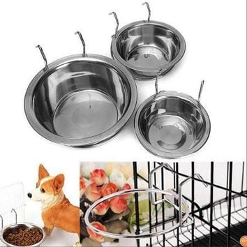 Stainless Steel Bowl Food for Pet Dogs