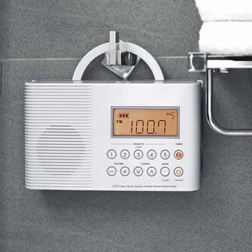 Waterproof Shower Radio @ Sharper Image