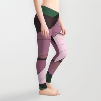 Shape Abstract Leggings by Ducky B