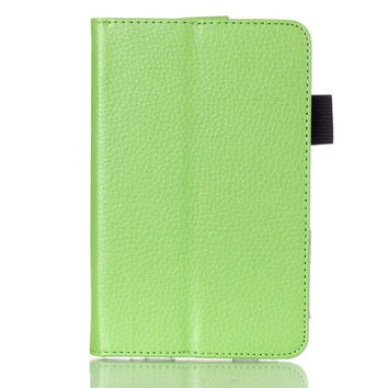 Kindle Fire HD 6 Smart Magnet PU Leather Case Cover For Amazon Kindle Fire HD 6 2014 tablet + Stylus Pen Gift