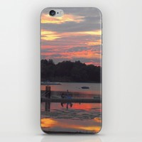 Sunset At The Cove iPhone & iPod Skin by minx267
