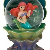 Fantasies Come True - Disney collectibles and memorabilia - Ariel in clam shell mini snowglobe - Ariel