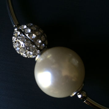 Pearl and Pave Choker