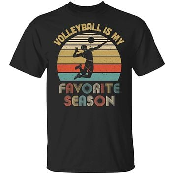 Volleyball Is My Favorite Season Vintage