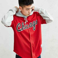 Mitchell & Ness Bulls Button Front Jersey