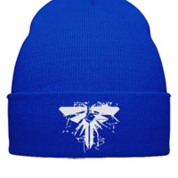 LAST OF US EMBROIDERY HAT  - Beanie Cuffed Knit Cap