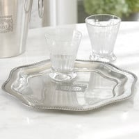 Cafe Brasserie du Grand Colbert Round Beaded Edge Tray