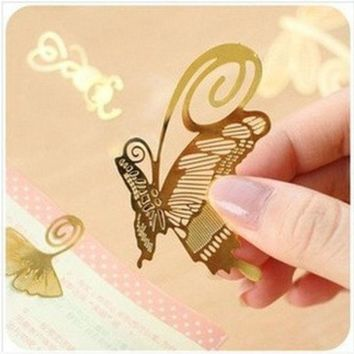 DCCK0OQ Korean Stationary Mini Metal Innovative Simple Design Bookmark [9283129738]