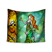 "Mandie Manzano ""Fairy Tale Frog Prince"" Wall Tapestry"