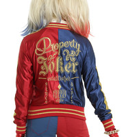 DC Comics Suicide Squad Harley Quinn Girls Bomber Jacket