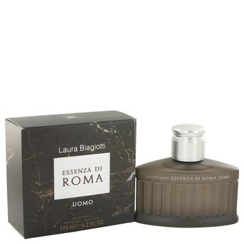 Essenza Di Roma Uomo by Laura Biagiotti Eau De Toilette Spray 4.2 oz