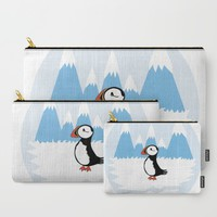 Puffin Carry-All Pouch by VanessaGF