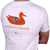 Authentic Tennessee Heritage Tee in White by Southern Marsh