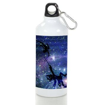 Gift Sport Bottles | Peter Pan War With Captain Hook Aluminum Sport Bottles