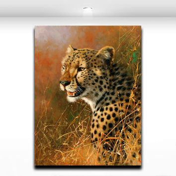 Leopard Wall Decor shop leopard room decor on wanelo