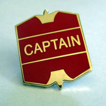 Quidditch Captain Badge / Pin for the Witch or Wizard
