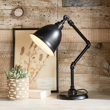 Galvanized Task Lamp