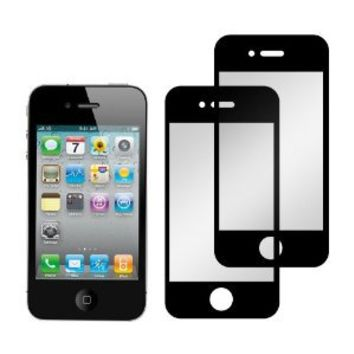 Screen Protector Film for iPhone 4 & 4S - (2 Pack) Bubble Free