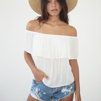 Juliette Shoulder Top