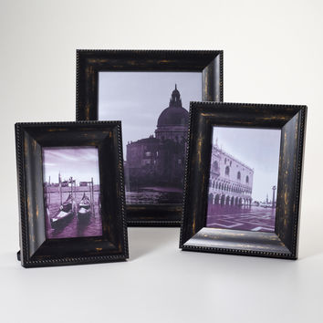 Black and Gold Sorrento Frames - World Market