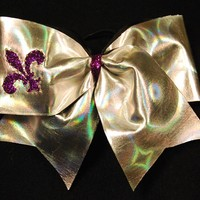 Holographic Heaven : GLITZ Cheer BowZ, Custom Products From Your Head To Your Toes