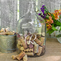 Wedding Wishes in a Bottle Guest Book Alternative