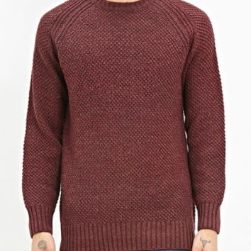 Side-Zip Raglan Sweater