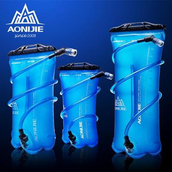 AONIJIE 1.5L/2L/3L TPU Water Bladder for Camping Hiking Climbing