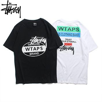Stussy 2019 early spring new couple models loose wild original short-sleeved T-shirt