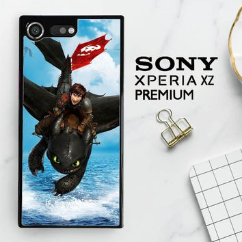 Toothless How To Train Your Dragon Y0783 Sony Xperia XZ Premium Case