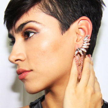 8 Other Reasons Homage Ear Cuff in Rose Gold