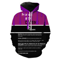 Prometh With Codeine Cough Syrup Hoodie