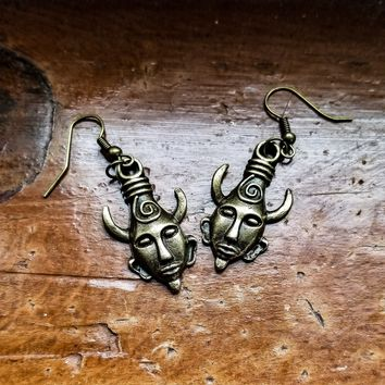 Supernatural Deans Amulet Earrings