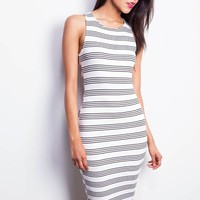 Skip Stripe Dress