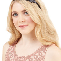 ModCloth Darling Lavish Your Locks Headband