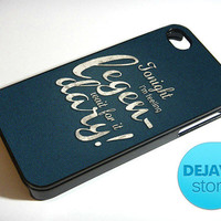 Legen Wait For It Dary Barney Stinson iPhone 4 / 4S Case