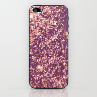 Blurry Copper Sparkle iPhone & iPod Skin by Rex Lambo | Society6