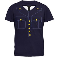 Halloween Military Formal Costume Mens T Shirt