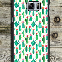 Cactus Cute Collage Samsung Galaxy S6 Edge Plus Case