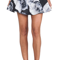 Cameo Reflect Skirt in Gray