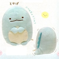 "San-X Sumikko Gurashi ""Things in the Corner"" 4"" Mascot Plush: Water Monster"
