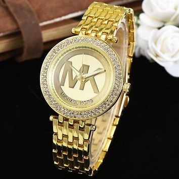 MK Ladies Men Fashion Quartz Watches Wrist Watch