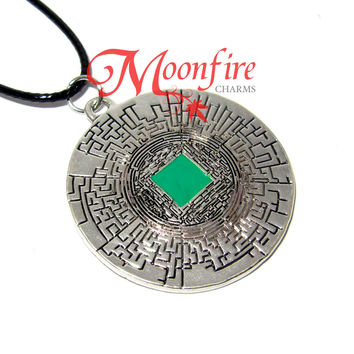 THE MAZE RUNNER The Glade and The Maze Necklace