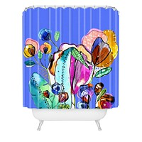 CayenaBlanca Surreal Garden Shower Curtain