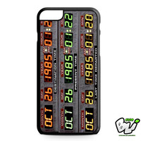 Back To The Future Time Machine iPhone 6 Plus Case | iPhone 6S Plus Case