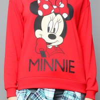 Back Lace Point Minnie Sweatshirt