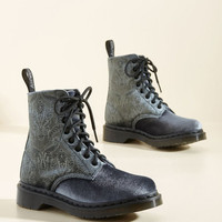 Flocked Around the Clock Velvet Boot | Mod Retro Vintage Boots | ModCloth.com