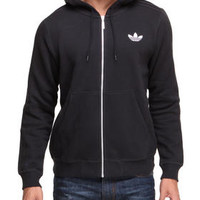 Sport Flocked Full Zip Hoodie by Adidas
